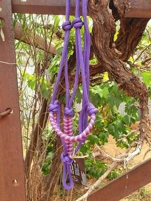 Purple and Pink Aztec Pony Halter