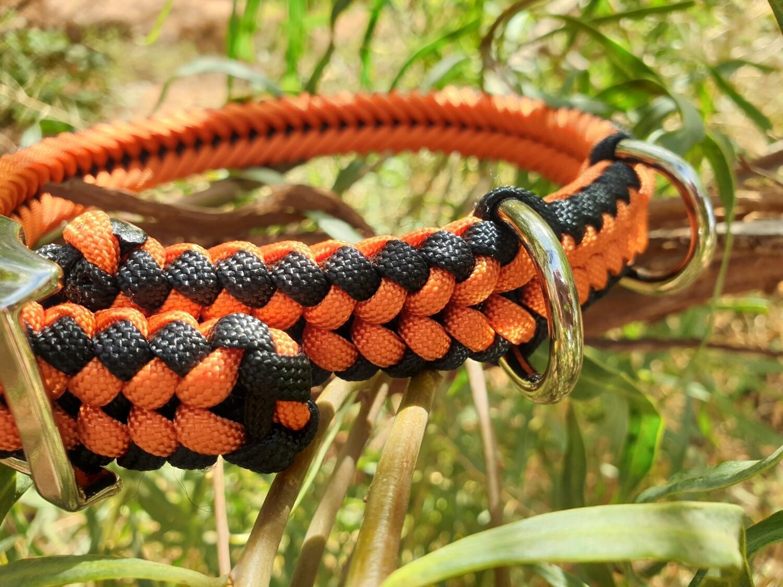 Orange and black Medium Collar