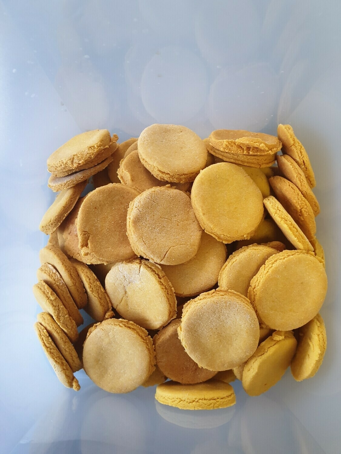 Peanut butter and pumpkin biscuits 100g