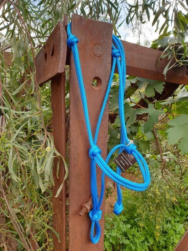 Blue Rope Halter
