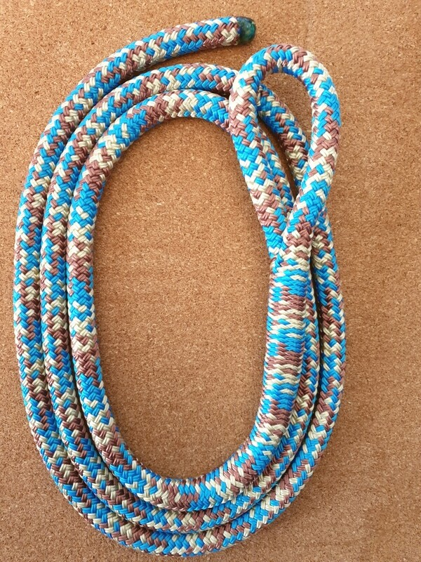 Blue/Beige/Brown Horse Lead