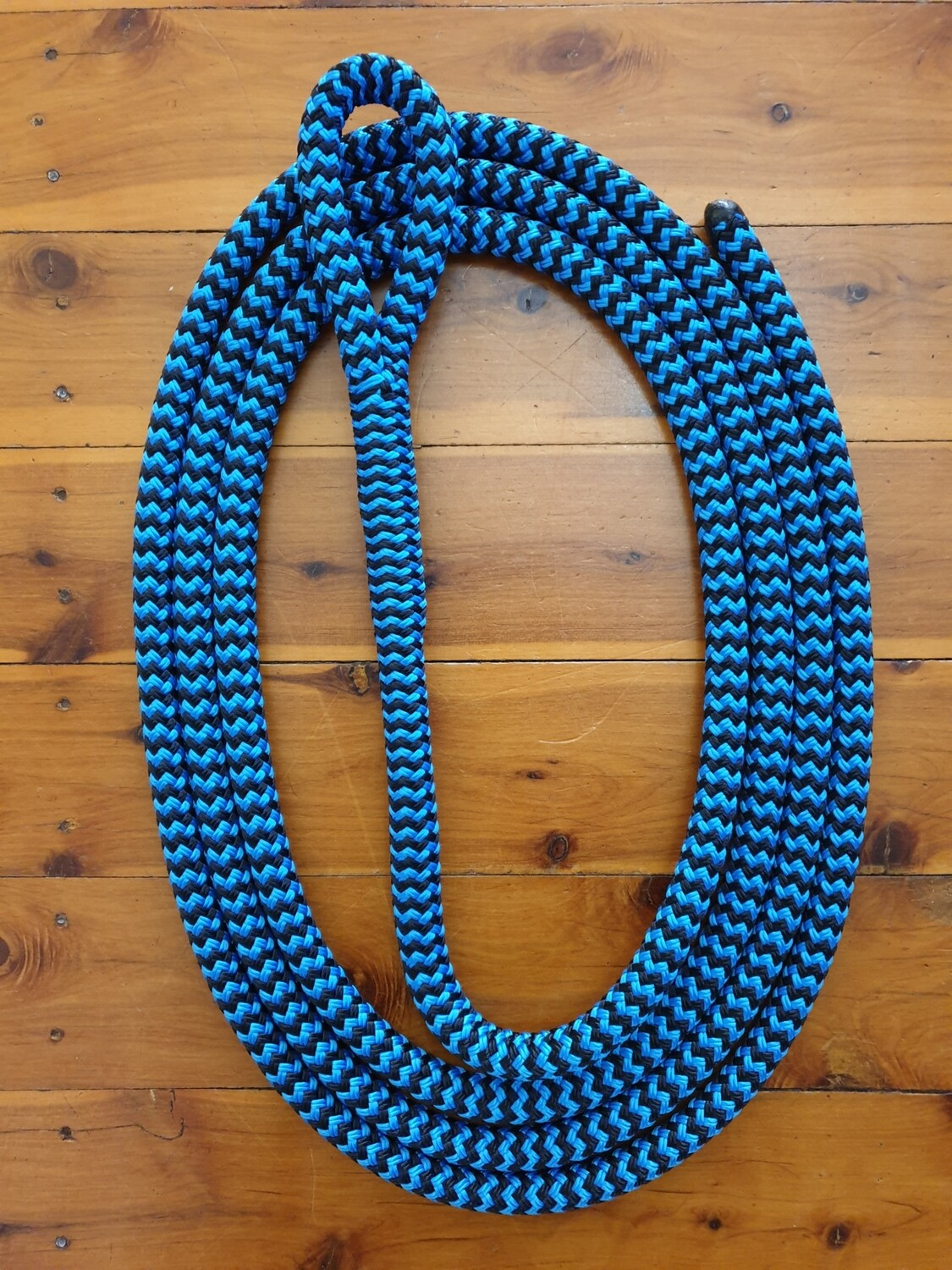 Black and blue ZigZag Horse Lead