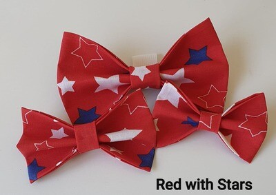 Red with Stars Bowtie