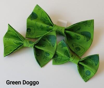Green Doggo Bowtie