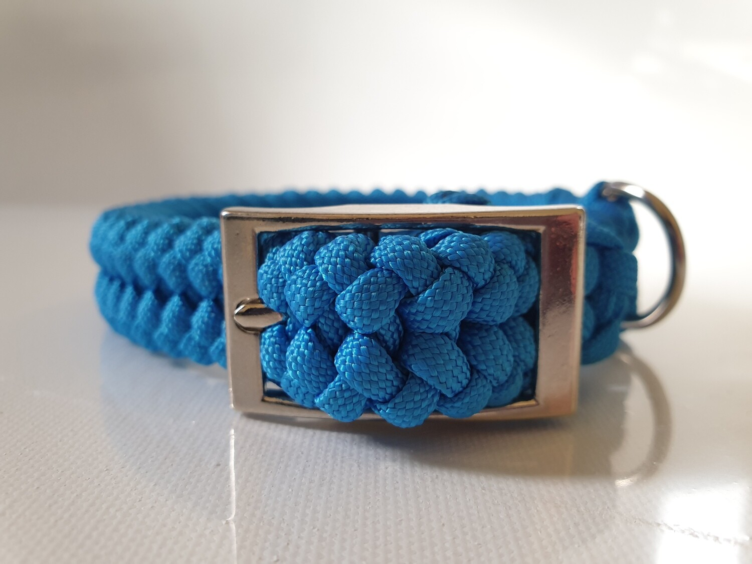 Sanctified Small Blue Dog Collar