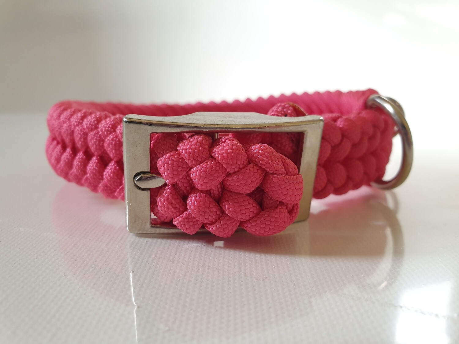 Sanctified Small Pink Dog Collar