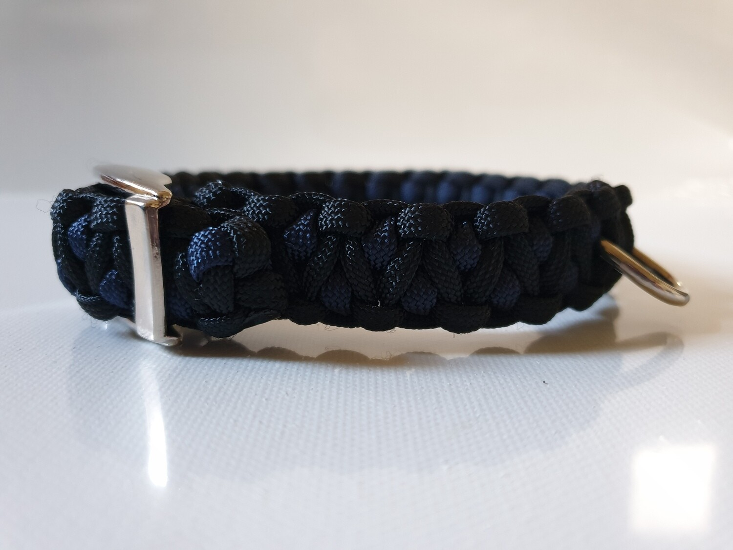 Drakon Small Navy/Black Dog Collar