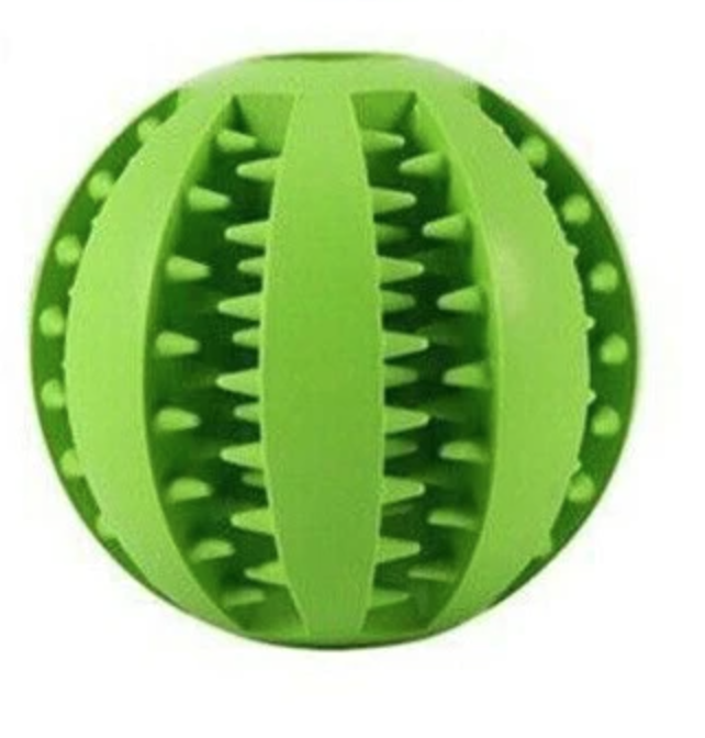 Large Green Toothy Ball