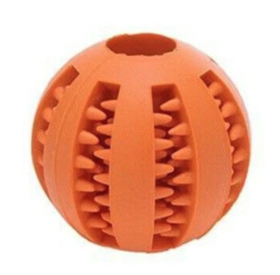 Large Orange Toothy Ball