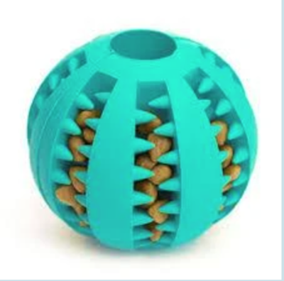 Small Light Blue Toothy Ball