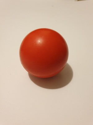 Small Red Solid Rubber Ball