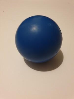 Medium Blue Solid Rubber Ball