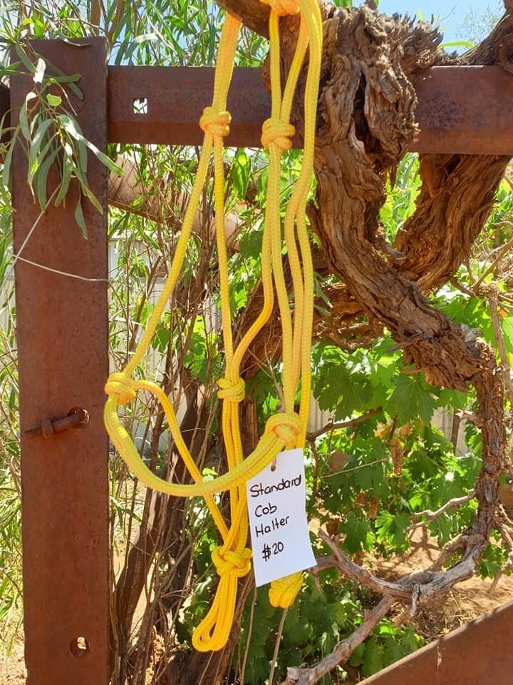 Yellow Rope Halter