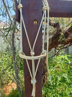 Beige Rope Halter