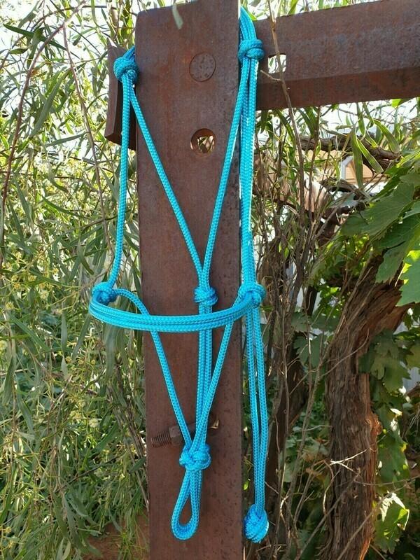 Aqua Rope Halter