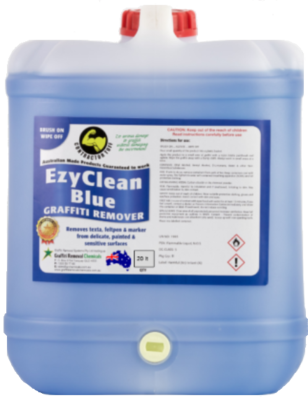 EzyClean Blue Graffiti Remover, 20 litre
