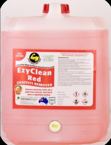 EzyClean Red Graffiti Remover, 20 litre