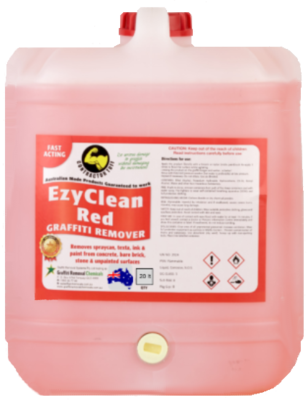 EzyClean Red Graffiti Remover, 10 litre