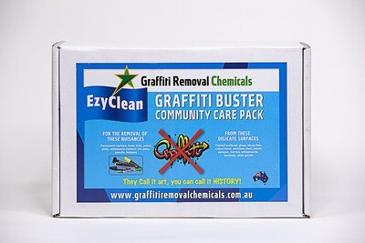 EzyClean Graffiti Buster Community Care Pack