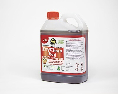 EzyClean Red Graffiti Remover, 2.5 litre