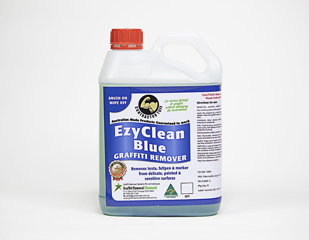 EzyClean Blue Graffiti Remover, 2.5 litre