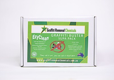 EzyClean Graffiti Buster Supa Pack