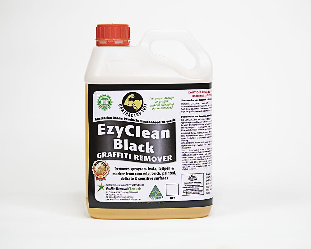 EzyClean Black Graffiti Remover, 2.5 litre