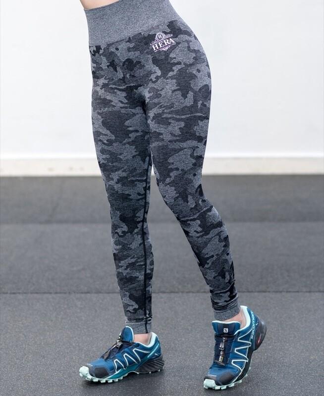 AURA Seamless leggings Black Camo