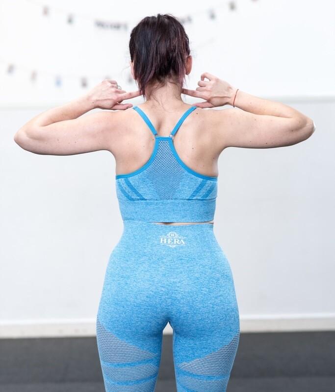 NESSA Sports Bra Blue