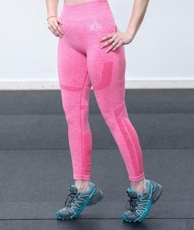 NESSA Seamless Leggings Vivid Pink
