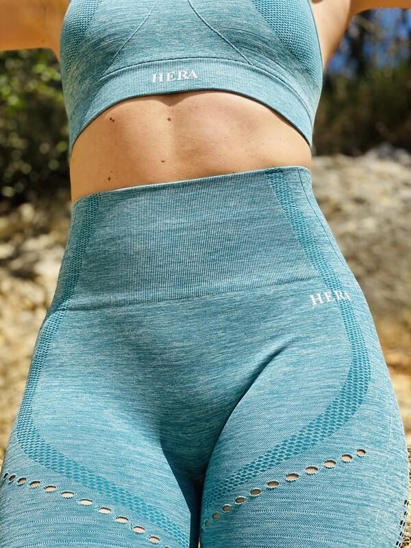 HESTIA seamless leggings Green