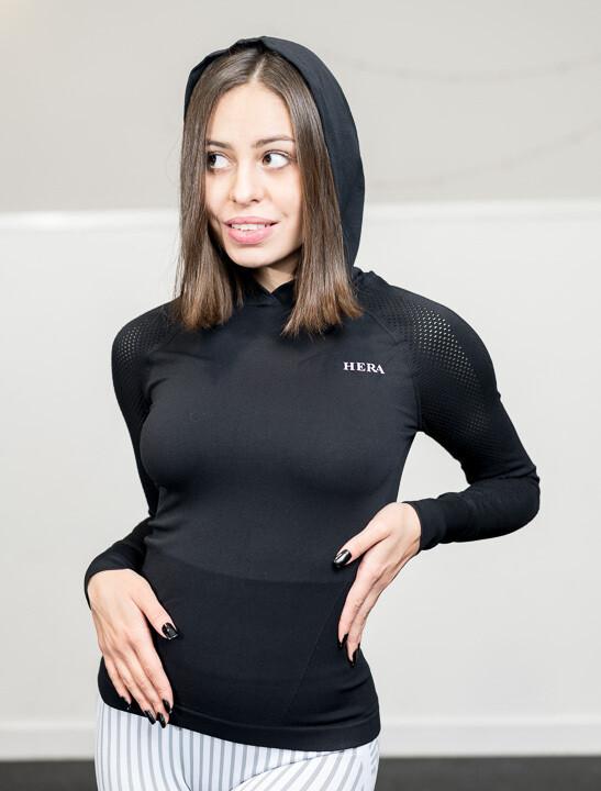 Etta Long Sleeve - Noir