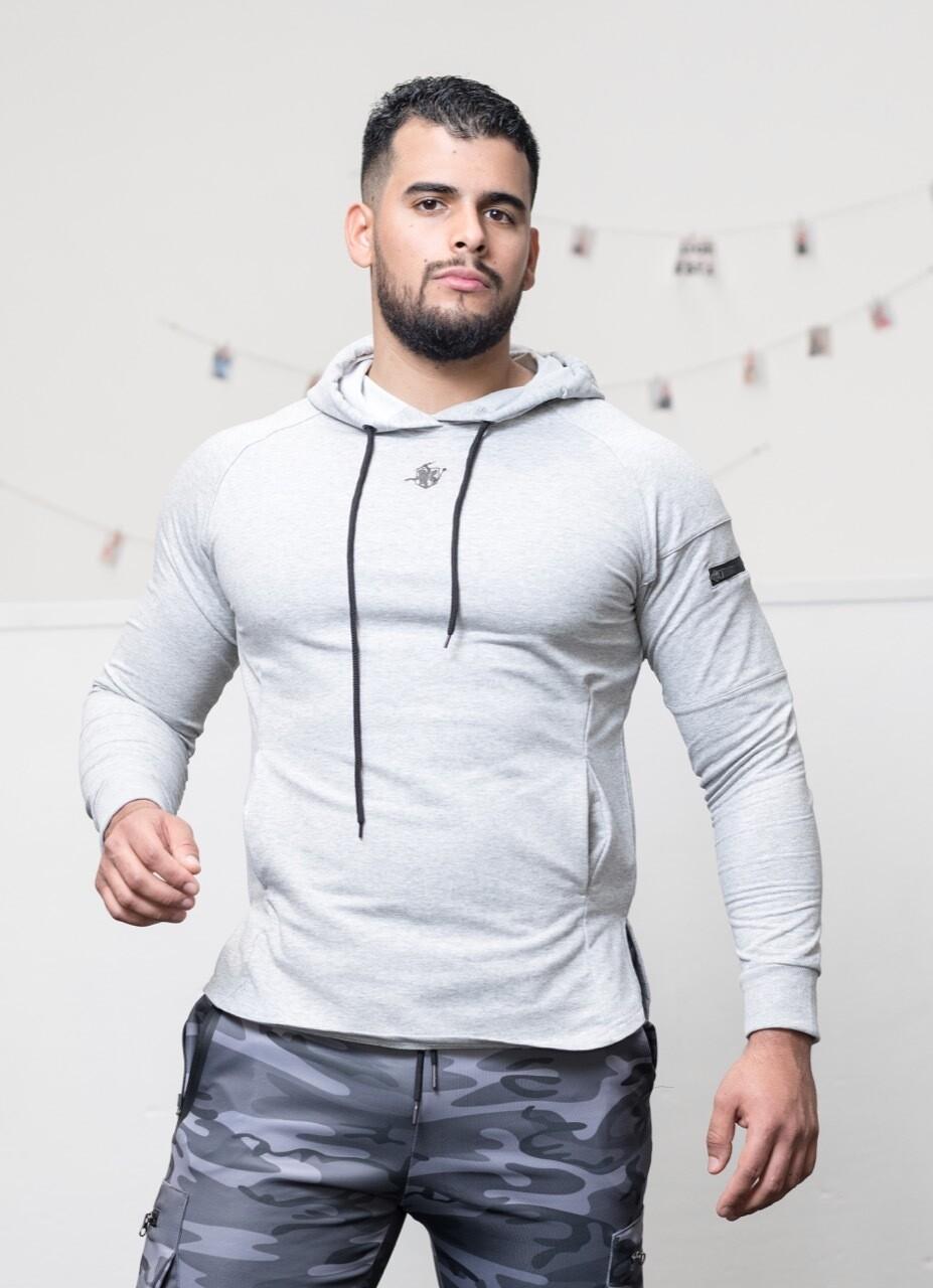 ZETO Sport Jersey   Light Gray