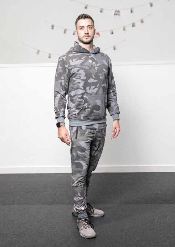 DIONISO 2 units set Hoodie&Joggers | Grey Camo