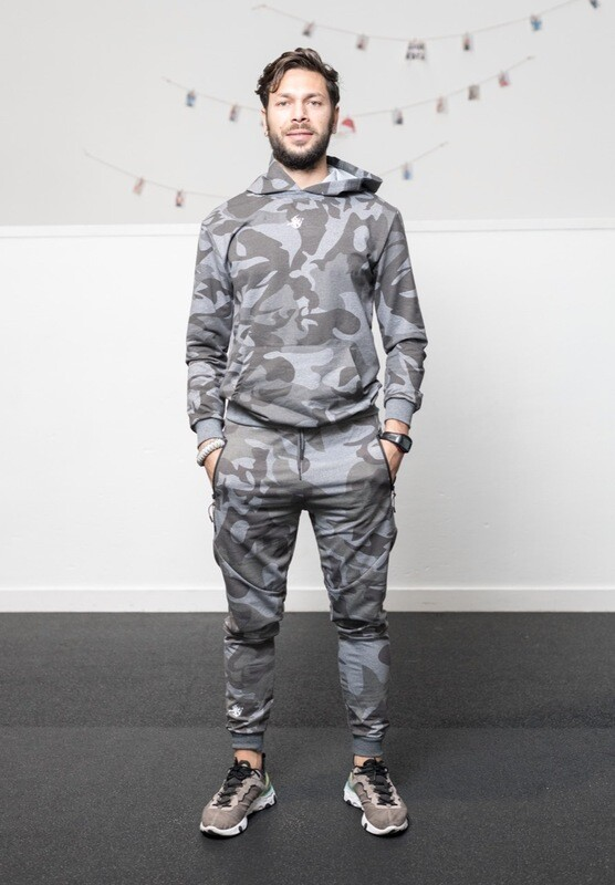 DIONISO Hoodie&Joggers | Grey Camo