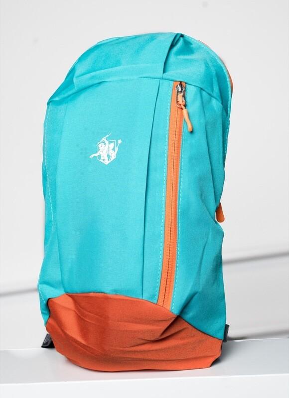 Hera&Zeus Sports Bag | True Blue & Orange