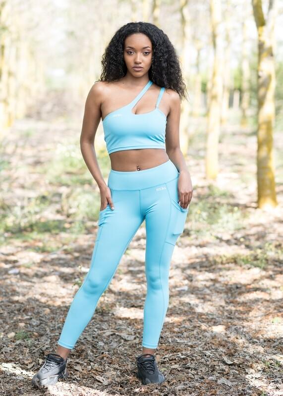 Gyda Leggings double butt-lifting impact | Light Blue