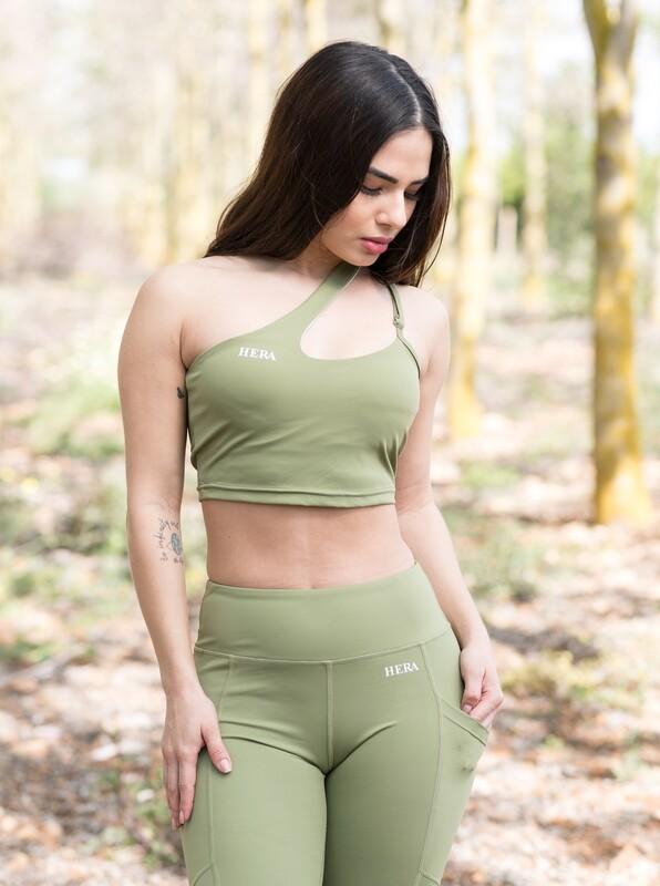 Gyda Sports Bra | Light Green