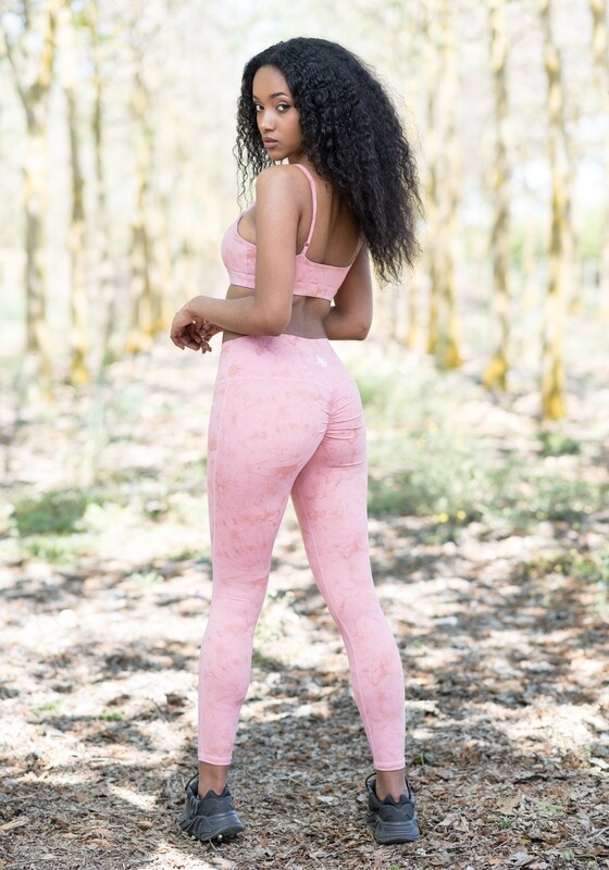 Hades Leggings double butt-lifting impact | Rose