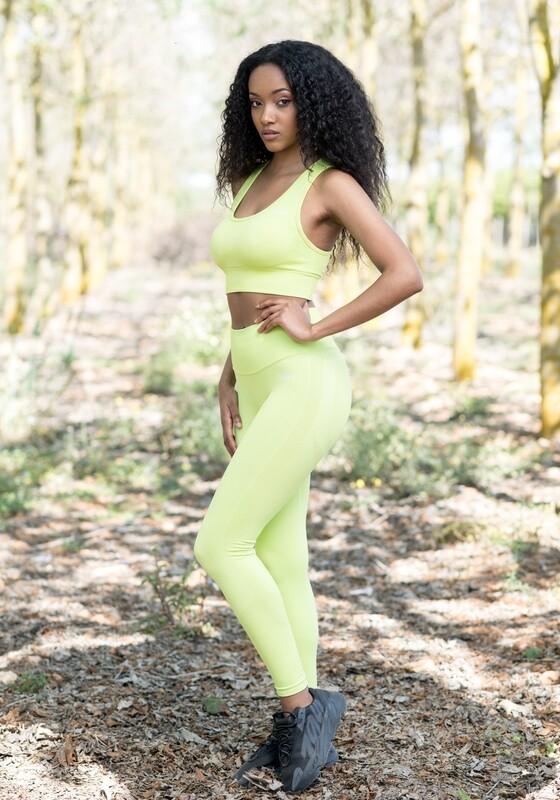 Ayalga leggings double butt-lifting impact | Neon