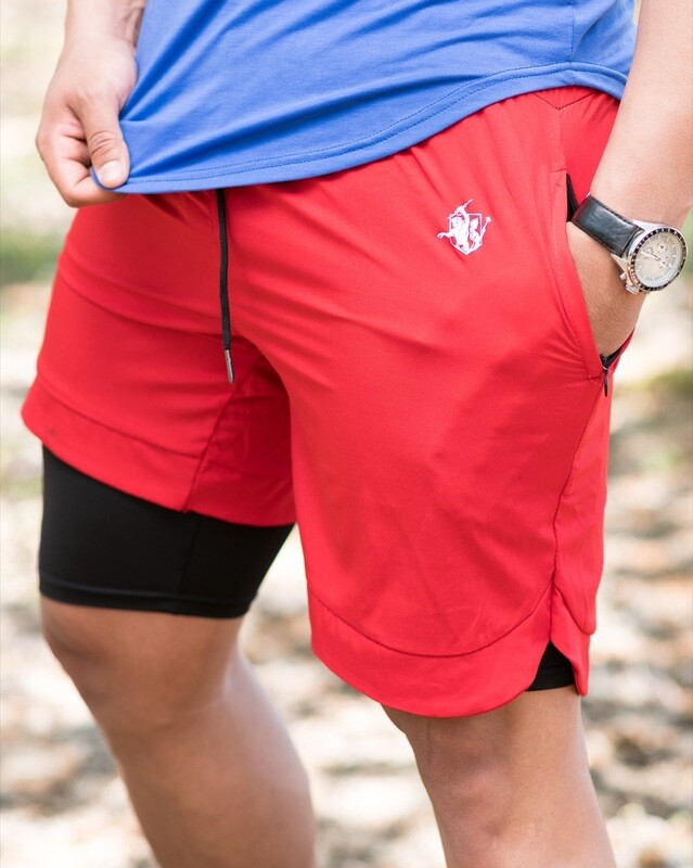 ZETO Shorts | Red&Black