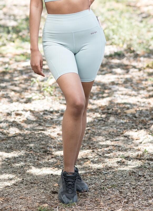 MINERVA Shorts | Light Green