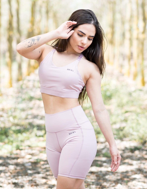 Minerva Sports Bra | Light Pink