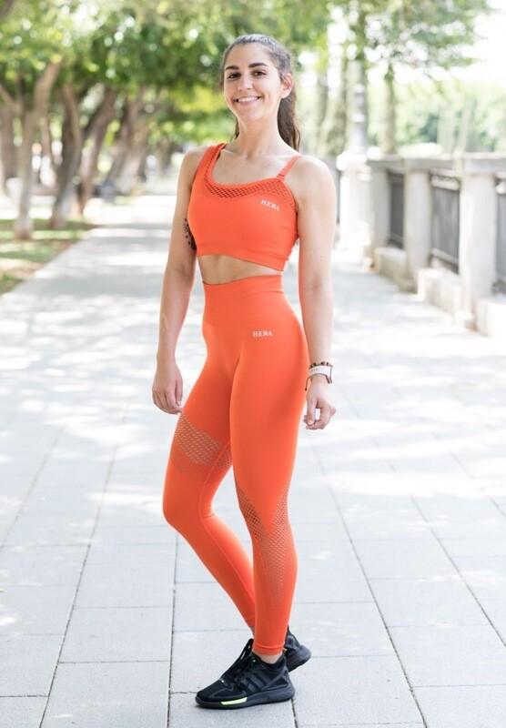ARGE Sport Bra | Orange