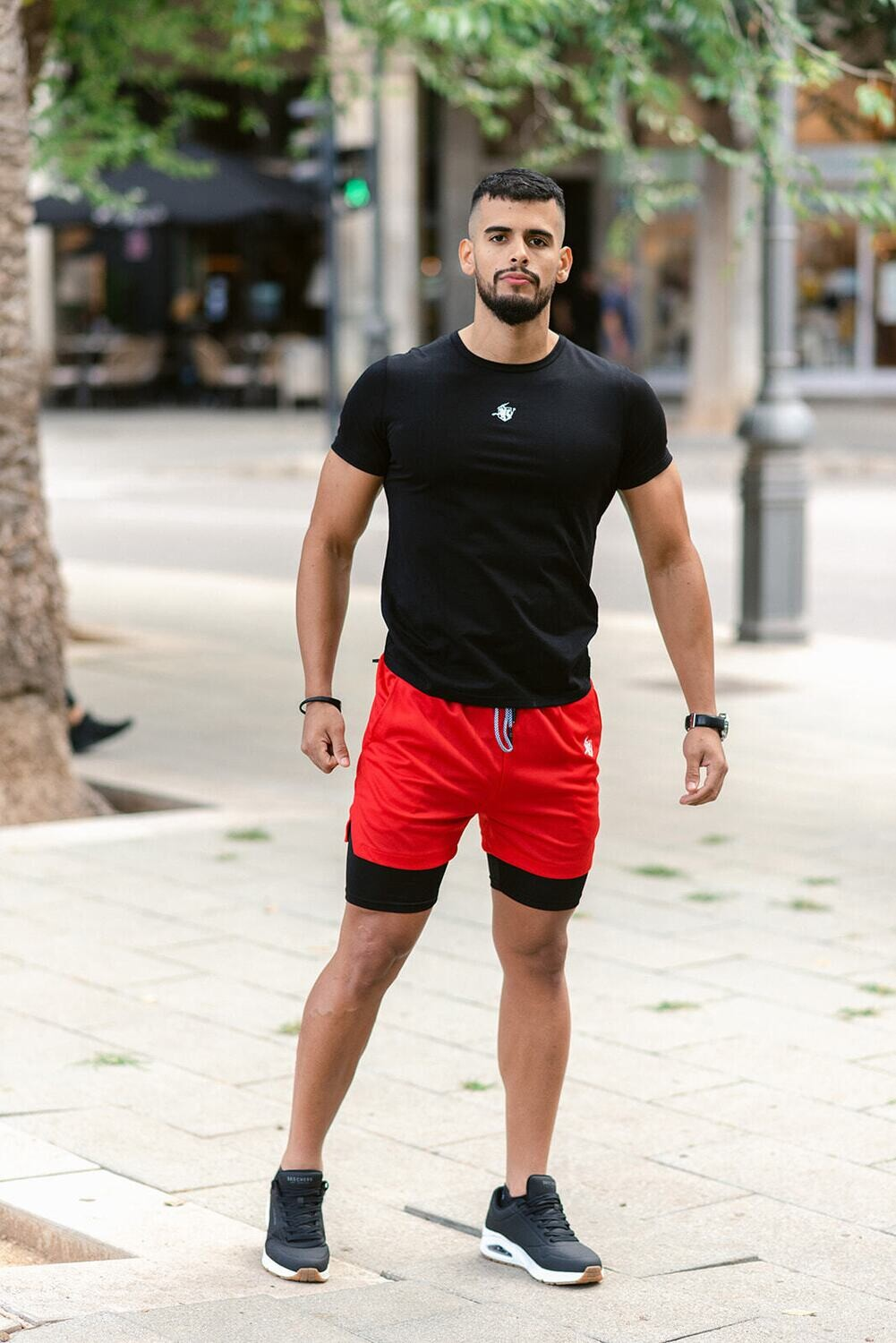CENEO 2-in-1 Shorts   Red