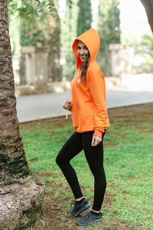 Apis Hoodie | Orange