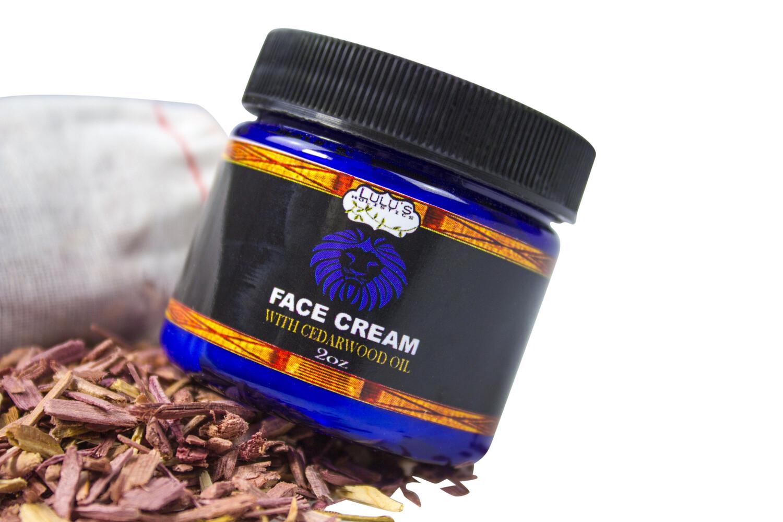 Cedarwood Oil Face Cream