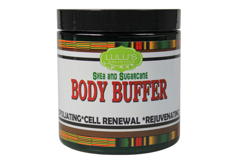 SHEA AND SUGARCANE BODY BUFFER