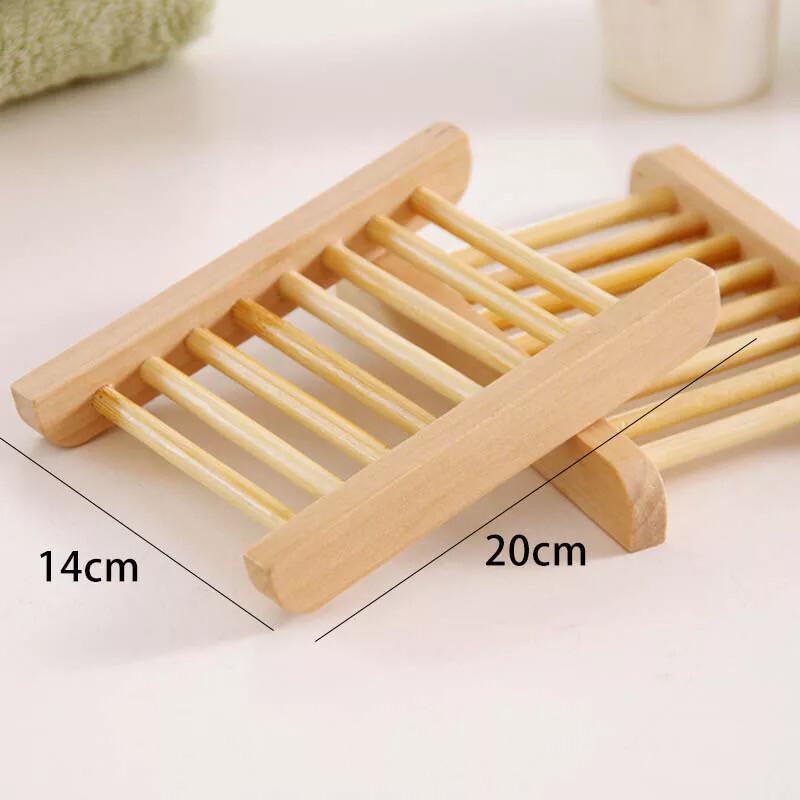 Natural Wood Soap Dish