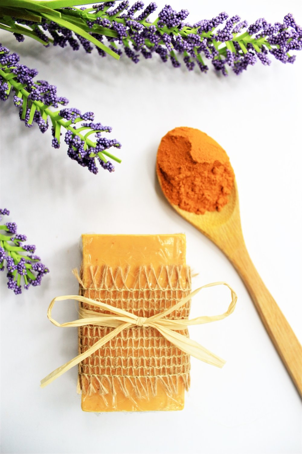 Turmeric and Lavender bar Soap